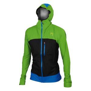 Lot Rain Jacket - apple green/black/bluette