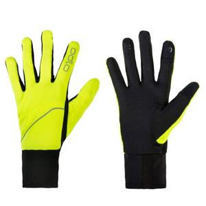 Intensity Safety Gloves - safety yellow