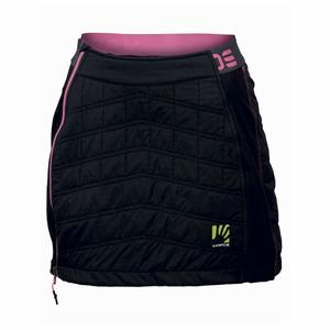 Alagna Plus Skirt Women - black/pink fluo