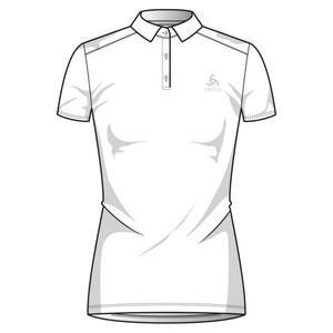 Cardada S/S Polo Shirt Women - white