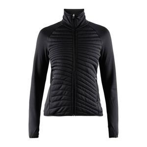 Breakaway Jersey Quilt Jacket Women - black