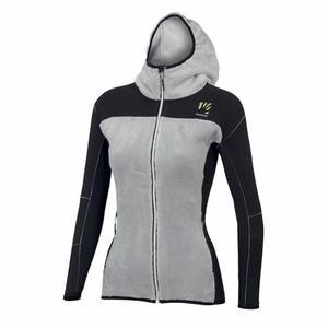 Toblin Fleece Jacket Women - silver/black
