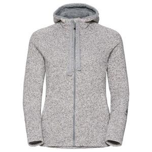 Sherpa Midlayer Full Zip Hoody Women - grey melange