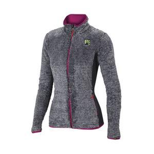 Vertice Fleece Women - light grey/dark grey