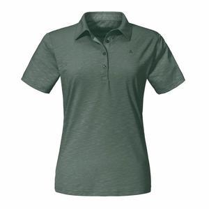 Polo Shirt Capri1 Women - agave green