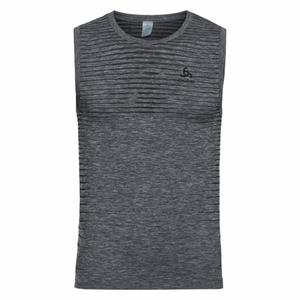Performance Light Crew neck Singlet - grey melange