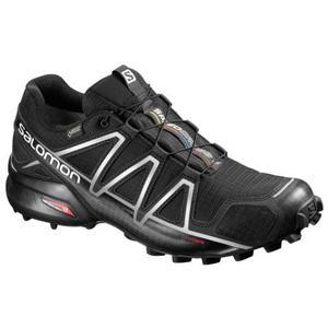 Speedcross 4 GTX black/silver metallic-x