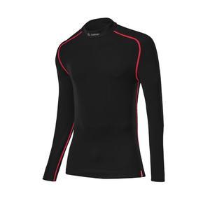 Turtleneck Shirt Transtex® Warm - black/red