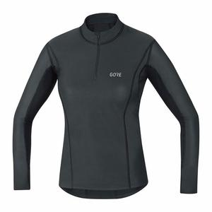 Women GORE® WINDSTOPPER® Base Layer Thermo Turtleneck - black