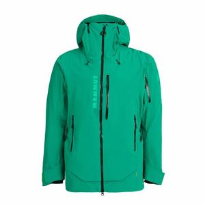 La Liste Hardshell Thermo Hooded Jacket - deep emerald