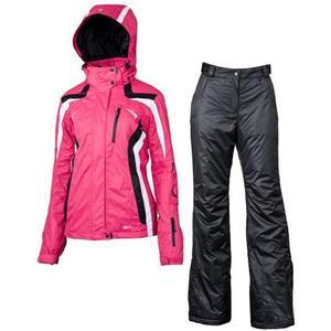 Umeko Skianzug Set Women - pink/white/black