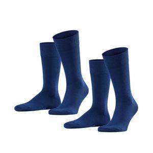 Happy 2 Pack Socks - royal blue
