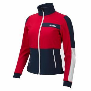 Strive Jacket Women - swix red