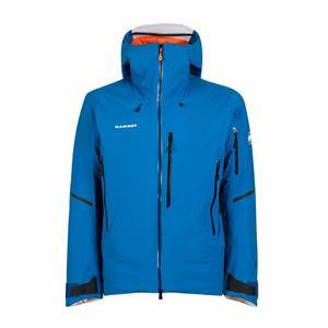 Nordwand Thermo Hardshell Hooded Jacket - azurit