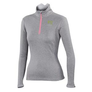 Pizzocco Half Zip Women - light grey