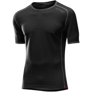 Hr. Shirt Transtex Wool KA - schwarz
