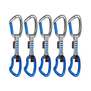 5er Pack Crag Indicator Express Sets - 10cm straight gate/bent gate, silver-ultramarine