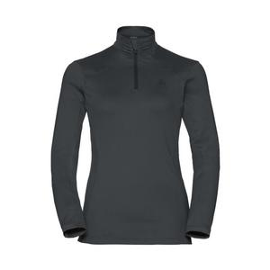 Steeze 1/2 Zip Midlayer Pullover Women - odlo graphite grey