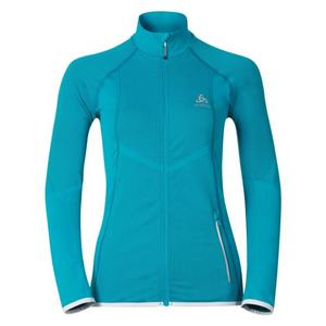 Velocity Midlayer Full Zip Jacket Women - algiers blue