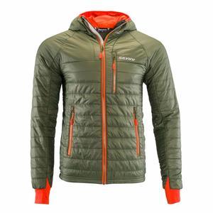Primaloft Jacket Rutor - olive/orange