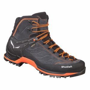 Mountain Trainer Mid Gore-Tex® Boots - asphalt/fluo orange