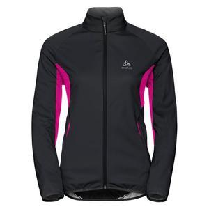Stryn Softshell Jacket Women - black/pink glo