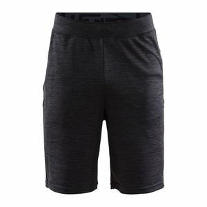 Deft Training Shorts - black melange