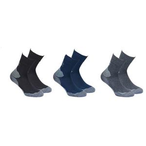 Outdoor Hiking Socks 3 Pack - black/navy/anthracite