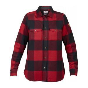 Canada Shirt LS Women - red