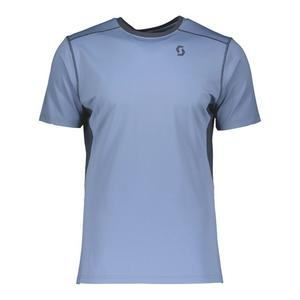 Trail MTN Tech Shirt - washed blue/nightfall blue