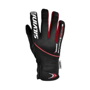 Ortles Glove Women - black-red