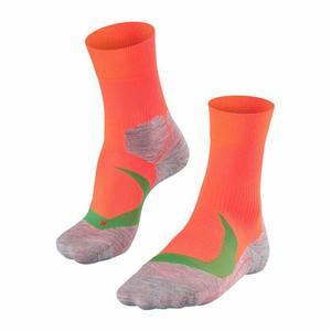 RU4 Cool Running Socks - neon red