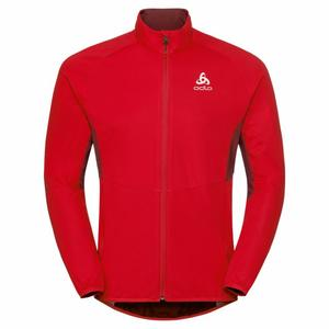 Aeolus Element Jacket - fiery red/syrah