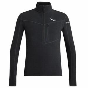Selva Half-Zip Fleece Jacket - black out