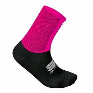 Race Pro Socks Women - bubble gum/black