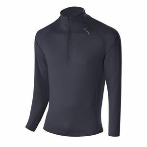 Zip-Sweater Stretchfleece Light - graphite