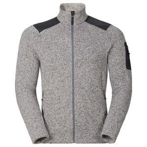 Lucma X Midlayer Full Zip Pullover - grey melange