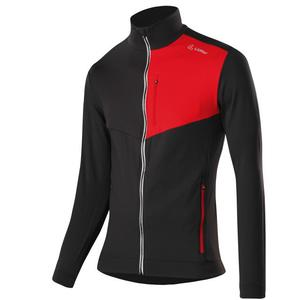 Fullzip Sweater - black/red