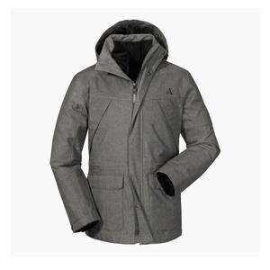 Schöffel 3in1 Jacket Cusco3 - asphalt