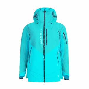 La Liste Hardshell Thermo Hooded Jacket Women - dark ceramic