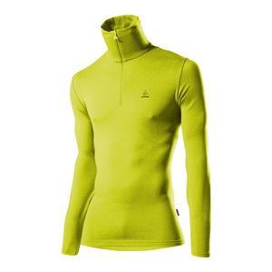 Transtex Basic CF Zip-Turtleneck - light green