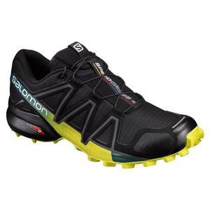 Speedcross 4 - black/sulphur sprinr