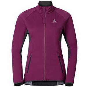 Stryn Jacket Women magenta purple-odlo graphite grey