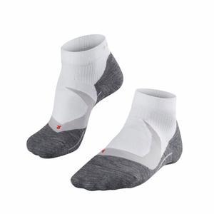 RU4 Cool Short Running Socks - white mix
