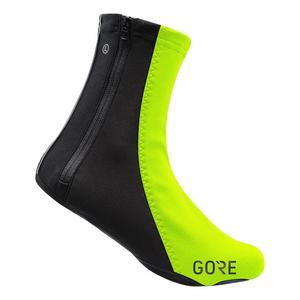 C5 WINDSTOPPER® Thermo Overshoes - neon yellow/black