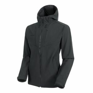 Sapuen Softshell Hooded Jacket - phantom