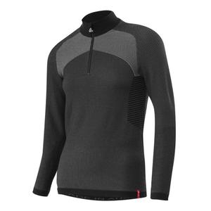 Transtex Hybrid Zip-Sweater Women - black
