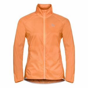 Zeroweight Dual Dry Running Jacket Women - papaya