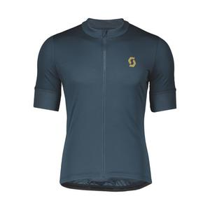 Endurance 10 Shirt - nightfall blue/ochre yellow