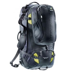 Traveller 80 + 10 L - black/moss